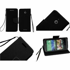 For HTC Desire 510 Cell Phone Case Hybrid PU Leather Wallet Pouch Flip Cover NEW