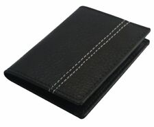 MENS LUXURY SLIM HIGH QUALITY REAL LEATHER WALLET BUSINESS ID/CREDIT CARD HOLDER