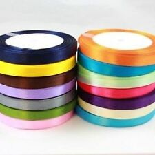 15mm SATIN RIBBON *23 METRES* *27 COLOURS* CARDMAKING CRAFTS WEDDING INVITATIONS