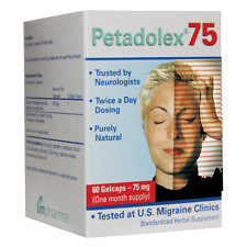 Petadolex 75 mg patented PA-free butterbur root extract