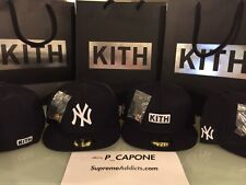 KITH NEW ERA NEW YORK YANKEES FITTED CAP HAT 59FIFTY SIZE 7 - 7 1/8 - 7 1/4
