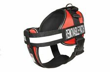Dogline Unimax Service Dog Harness Vest Removable Chest Plate & Velcro Patches
