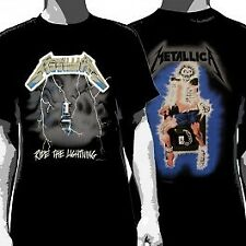 Metallica - Ride The Lightning - Mens Short Sleeve T-Shirt