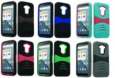 Dual Layer Armor Hard Case for LG G Stylo G4 Stylus LS770 Boost Mobile, T-Mobile