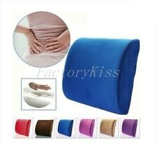 Memory Foam Cushion Back Lumbar Support Pillow for Car Seat Home Office V132 SOZ