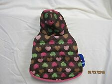 Top Paw Pet Apparel Heart Puffer Coat - With Hood - NWT