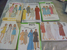 Sewing Patterns ADULT PAJAMAS Robes Nightgowns Long Shortie Hooded