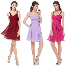 Ever Pretty Short Prom Wedding Bridesmaid Cocktail Party Dress 03266 US Seller