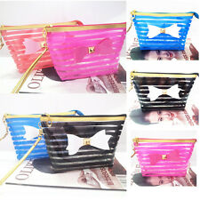Color Travel Cosmetic Makeup Toiletry Purse Organizer Hanging Wash Bag Holder