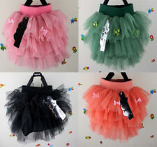 4 types Cute butterfly princess dress Skirts for 2-6 Years old girls