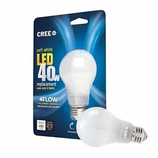 8 xNew Cree 40W Soft White (2700K) A19 LED Light Bulb with 4Flow Filament Design