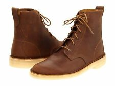 Men's Clarks Original Desert Mali Boot Brown Beeswax Leather 26113253