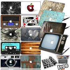 "Vintage Pattern Laptop Hard Case Cover For Macbook Air 11"" Pro 13"" 15"" Retina 12"