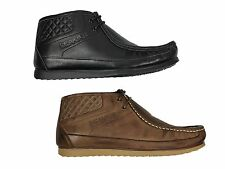 MENS BOOTS NICHOLAS DEAKINS COMPANY BLACK & COFFEE COLOURS ALL SIZES 6-12