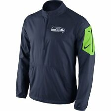 Seattle Seahawks MENS 1/2 Zip Jacket Lockdown by Nike