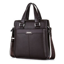 Men's Genuine Leather Messenger Shoulder Laptop Bag Business Handbag Briefcase