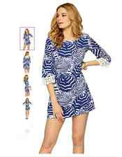 NEW Lilly Pulitzer Harbour Tunic Lace Dress S Small or  L Large