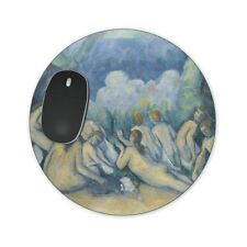 Cezanne Bathers Art Painting Mousepad Placemat Potholder - Round, Heart or Recta