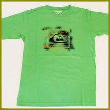 QUIKSILVER T-Shirt MENS Size:*S Smal l* NEW Green Genuine Brand Top Quicksilver