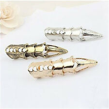 Fashion Women's Men's Unisex Gothic Punk Metal multilayer Knuckle Full Claw Ring