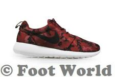 Mens Nike Roshe run One Print - 655206 660 - Red Black Camo Trainers