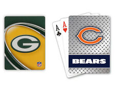 Officially Licensed NFL Chicago Bears Green Bay Packers Poker Playing Cards