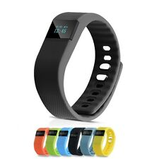 Activity Fitness Tracker Smart Bluetooth Tw64 Watch Wristband Bracelet Pedometer