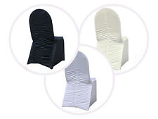 Ruched Spandex Banquet CHAIR COVERS Wedding Party Supplies Wholesale