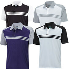 SALE!! 2015 Adidas Climacool Sport Classic 3-Stripes Mens Golf Polo Shirt