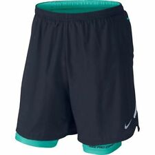 "642727-451 New w tag Nike Men's 7"" inch phenom 2 in 1  Running Shorts"