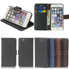Card Slot Magnetic Flip Cover Stand Wallet Leather Case For iPhone 6 6s Plus