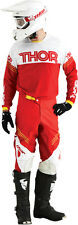 THOR Phase Kit Hyperion RED WHITE 2016 Motocross Enduro Pant & Jersey