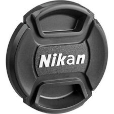 52 58 67 77 mm Center Pinch Cover For Nikon DSLR Front Len Cap Snap-On Filters