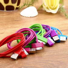 USB Charger Sync Data Cable for iPad2 3 iPhone 4 4S 3G 3GS iPod Nano Touch GA
