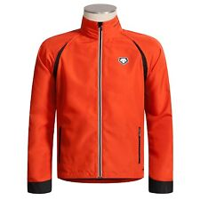 DECENTE CONVERTIBLE CYCLING JACKET WINDPROOF Red MENS L & XL NEW running