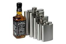 4 6 8 10 OZ Stainless Steel Hip Liquor Whiskey Alcohol Flask Cap + Funnel Cool