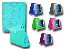 PU Leather Diamond Sparkling Glitter Gem Stand Case Cover For Apple iPad 2 3 4