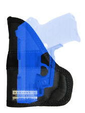 New Barsony Concealment Gun Pocket Holster .380 Ultra Compact 9mm 40 45 w/ LASER