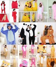 Hot!! Unisex Adult Anime Onesie Kigurumi Pajamas Cosplay Costume Dress Sleepwear