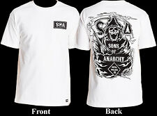 Metal Mulisha Men's Sons Of Anarchy SOA T-Shirt Grim Reaper Size L-2XL XXL