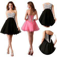 XMAS DISCOUNT Short Formal Evening Homecoming Gowns Prom Party Bridesmaids Dress