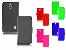 Magnetic Wallet Flip TPU Holder Leather Stand Case Cover For Huawei Ascend Y635