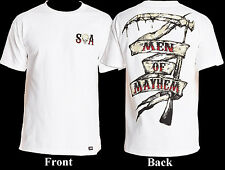 Metal Mulisha Sons Of Anarchy Men Of Mayhem Grim Reaper Scythe T-Shirt S-XXL