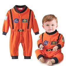 Baby Boy Girl Spaceman Astronaut Carnival Fancy Party Costume Outfit Clothes