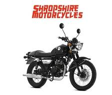 Lexmoto VALIANT 125cc Motorcycle, Commuter, Cafe Style cruiser. Learner Legal