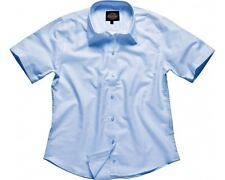 Dickies Ladies Oxford Blue Short Sleeved Shirts – Size 20