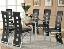 Dining Table Set Dining Tables Glass Top Contemporary Modern Kitchen Furniture