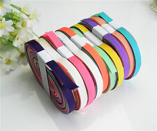 """NEW 10/20 yards 3/8"""" mix10 Style sewing satin grosgrain ribbon lot wholesale A42"""