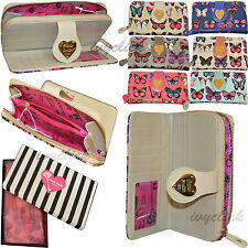 LYDC Ladies Butterfly Purse Wallet  Design Brand Soft + Gift Box Anna Smith