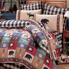 The Woods Cabin Bedding Comforter Set ~ 4 Sizes with Sheet Option